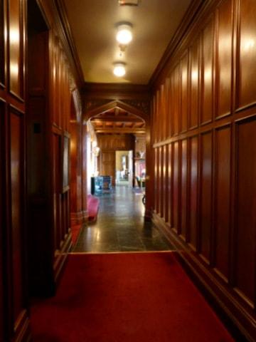 Interior hallway in the Mansion