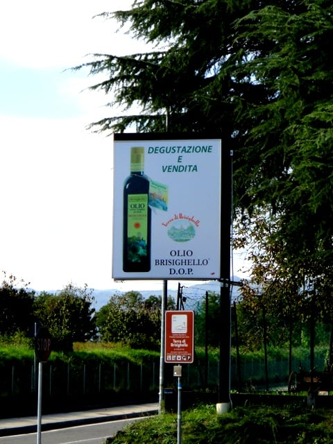 Entrance to Terra di Brisighella cooperative