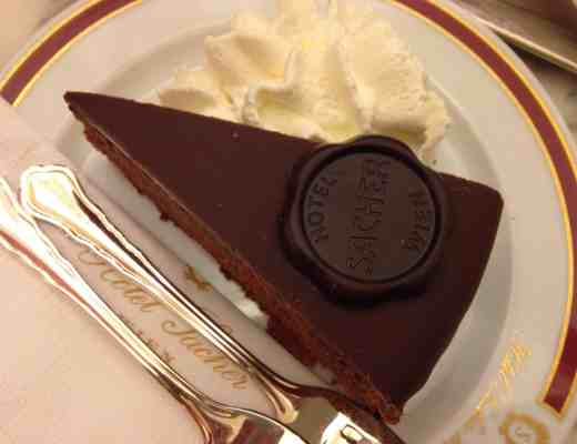 Original Sacher-Torte at Cafe Sacher