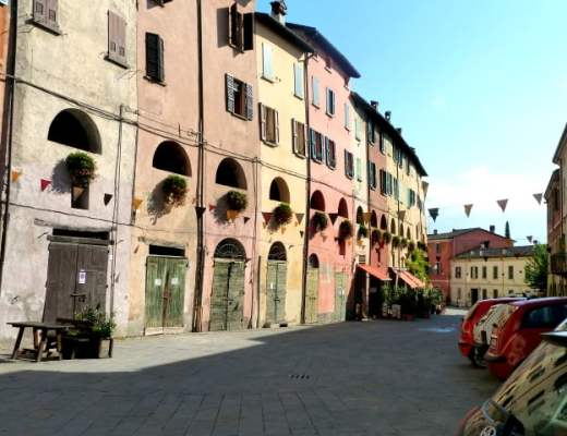 Exterior of The Donkey Road in Brisighella