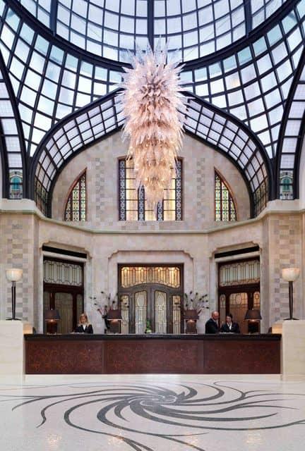Gresham Palace Lobby (Credit: Four Seasons)