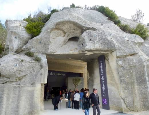 Entrance to the Quarry in Les Baux-de-Provence