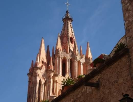 Parroquia San Miguel Arcangel, San Miguel de Allende, Mexico
