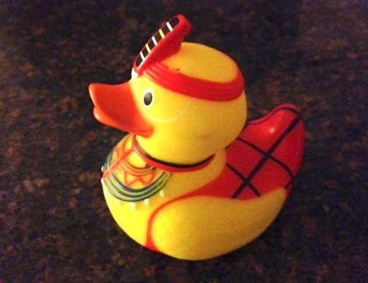 Rubber duckie from Mahali Mzuri