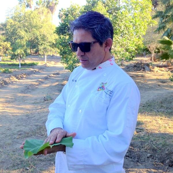 Chef Enrique Silva