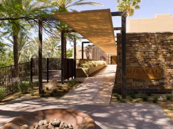 Spa entry (Photo Credit: Miraval)