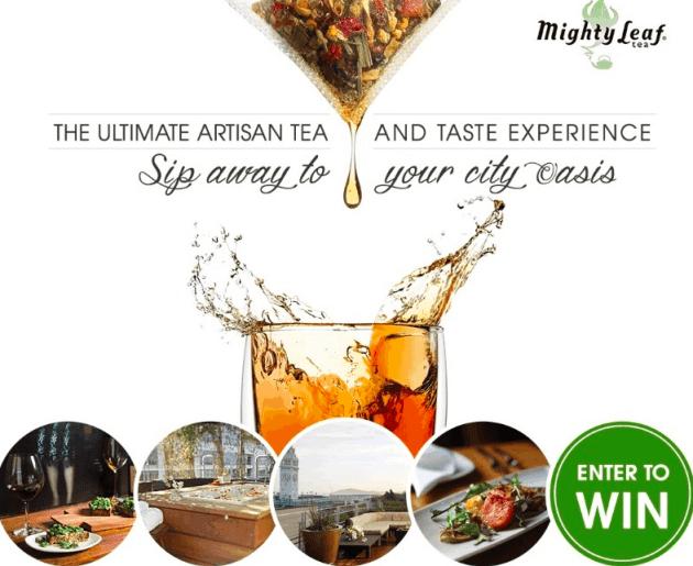 Mighty Leaf Ultimate Artisan Tea Giveaway