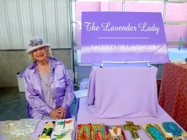 Lavender Lady at the Santa Fe Farmers Market
