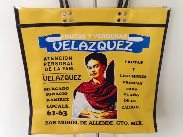 Shopping Bag I Purchased at Mercado Ignacia Ramirez in San Miguel de Allende