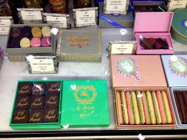 Chocolates at Ladurée