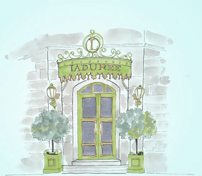 Entrance to the shop on Rue Royale (Screenshot)