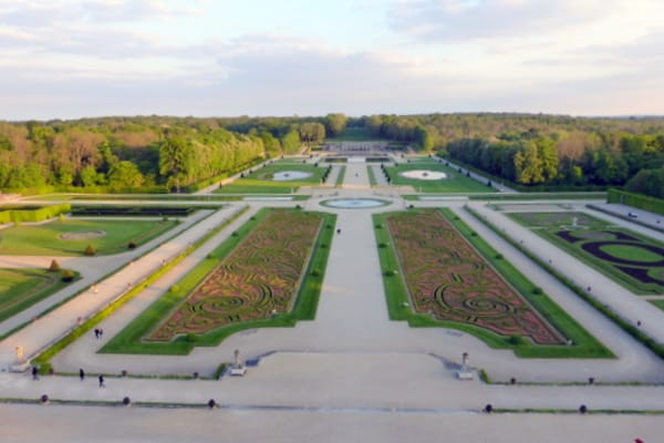 The first formal French garden