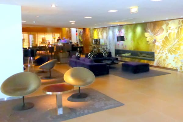 The Light Bar in the lobby