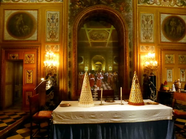 The first formal dining room