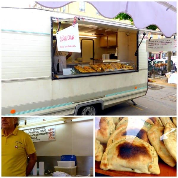 Senor Carlos' empanada truck