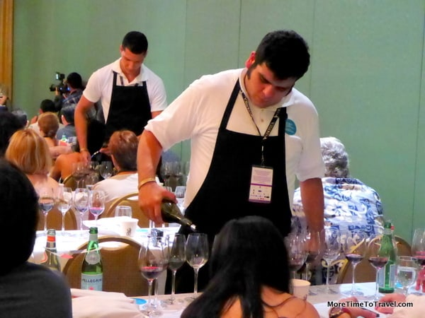 Wine-tasting seminar at Ritz-Carlton Cancun, Cancun-Riviera Maya Wine & Food Festival
