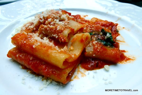 Paccheri at Barbetta