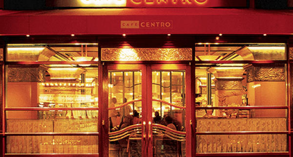 Entrance to Cafe Centro (screen shot)