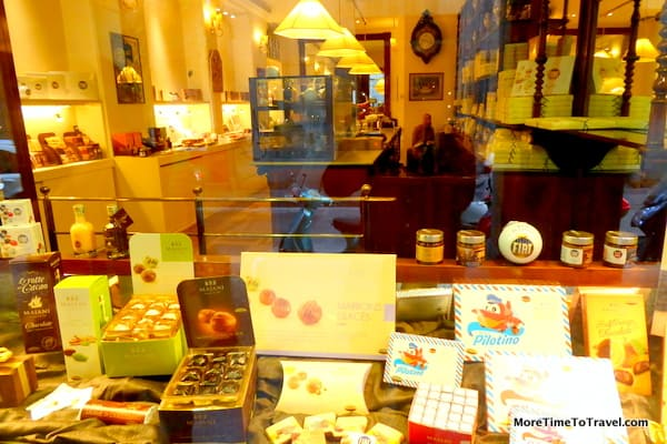 A peek inside the Majani window