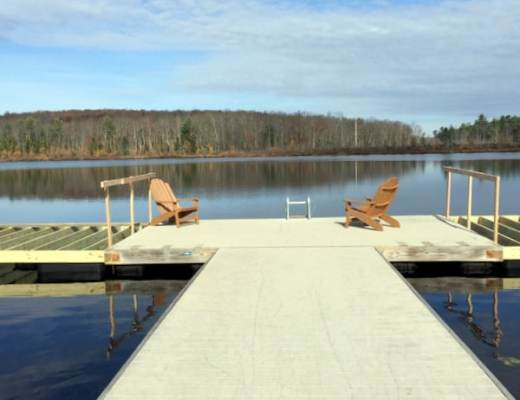 The dock on the Lake