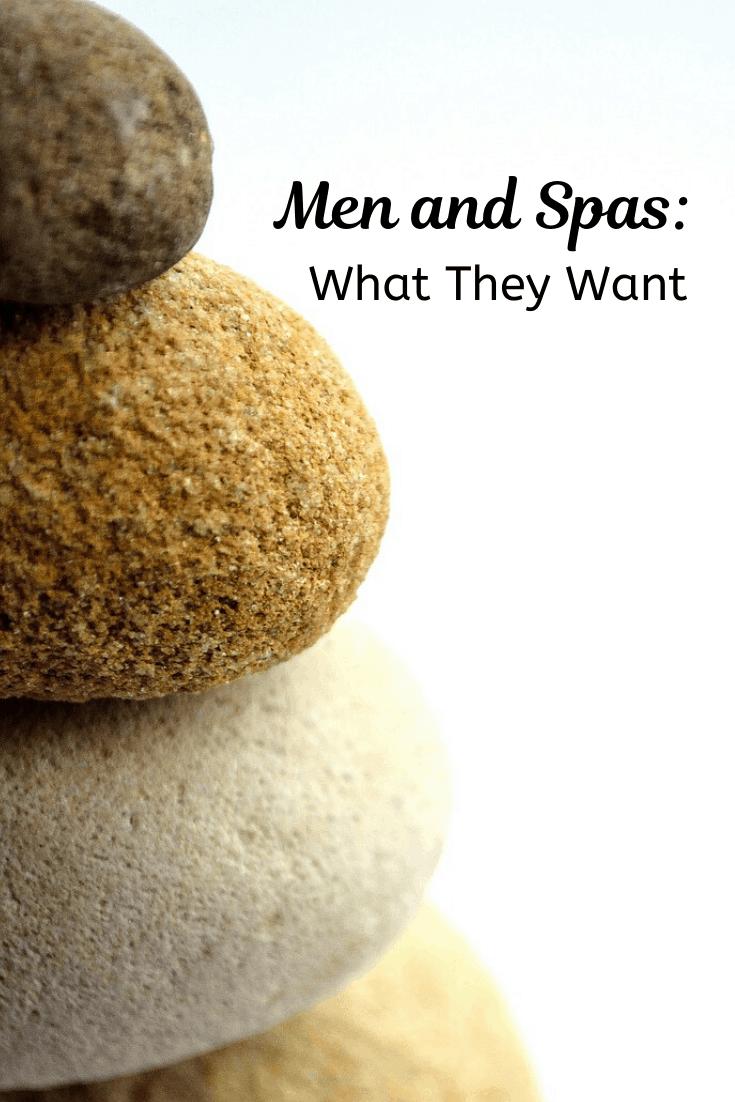Men and Spas pin