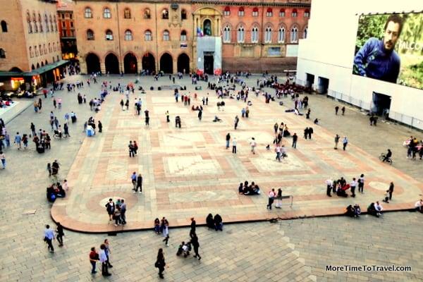 The heart of Bologna