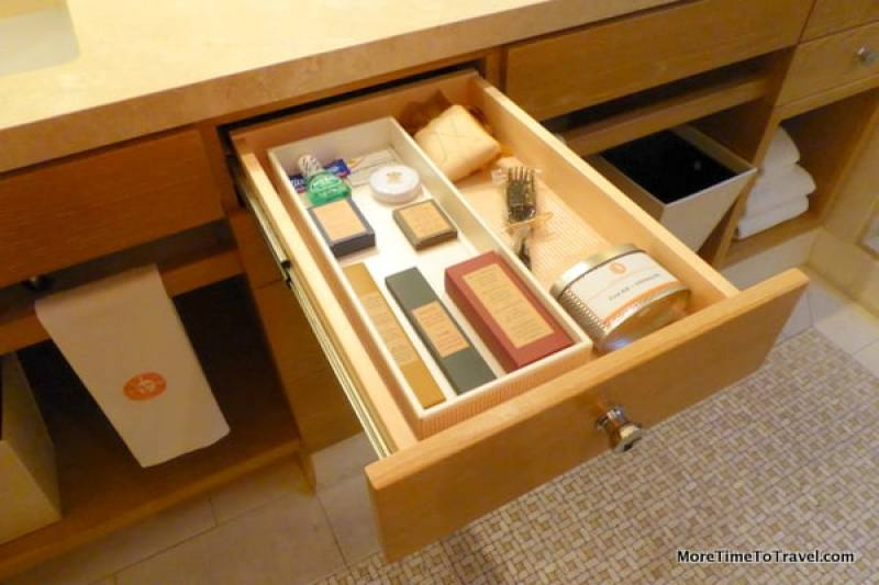 One of the just-in-case drawers