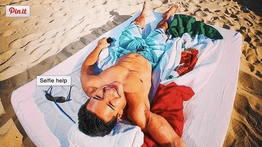 Mario Lopez Selfie (Mexican Tourism Board-Lapiz/Leo Burnett)