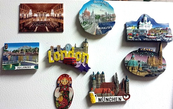 Refrigerator Magnets - Europe