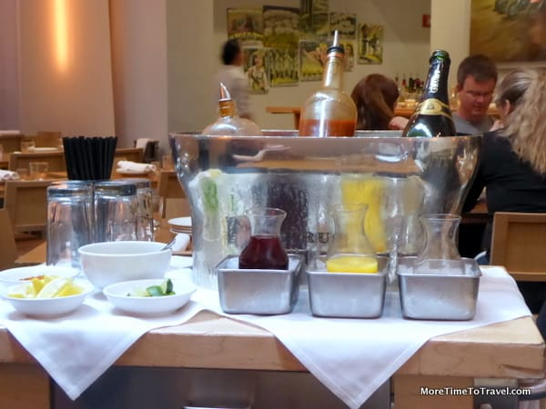 The drink cart