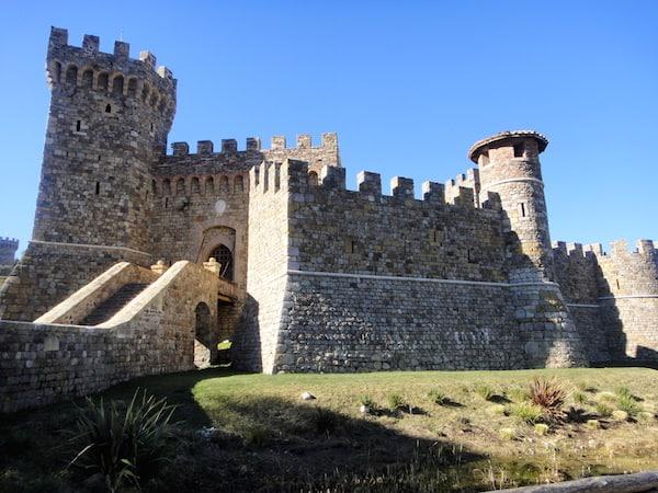 Exterior, Castello di Amorosa in Calistoga