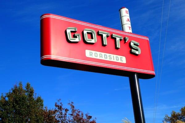 Gott's Roadside restaurant in downtown Napa