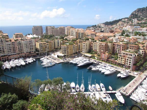 Crowded Monaco - People and Yachts (Credit: John and Sandra Nowlan)
