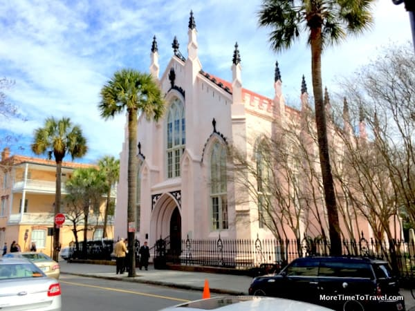 Historic French Huguenot Church in Charleston, a National Historic Landmark