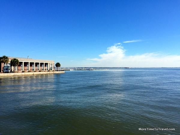 View of Charleston Harbor