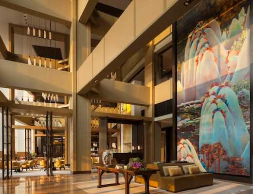 Lobby of the Rosewood Beijing (Credit: Rosewood)