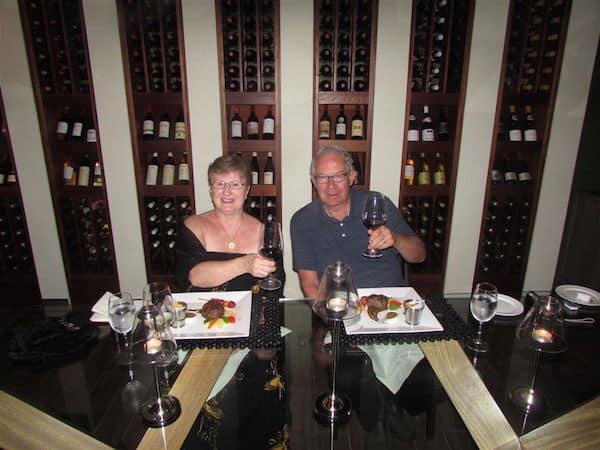Wine Cellar Dinner (John and Sandra Nowlan)