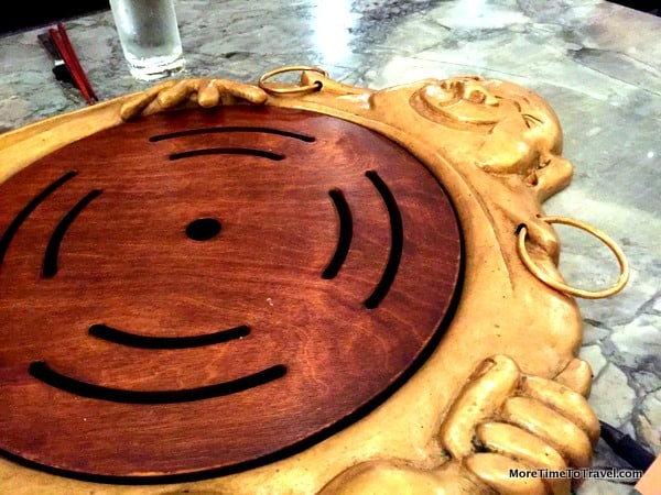 Table-top Buddha Belly grill
