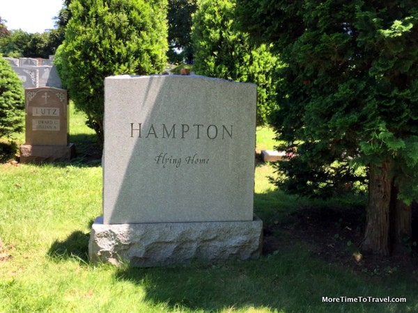 Simple grave of Lionel Hampton (1908-2002)
