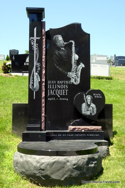 Gravestone of Illinois Jacquet (1922-2004)
