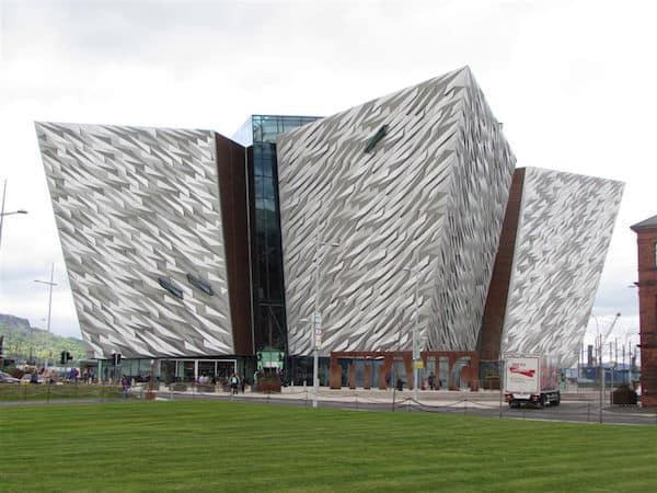 Titanic Belfast - 3 ships