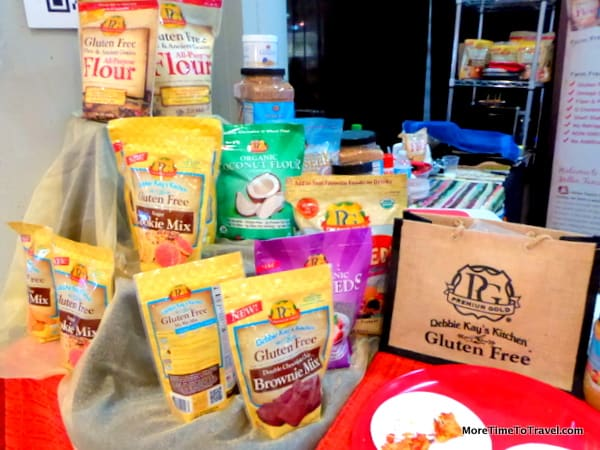 A variety of gluten-free products