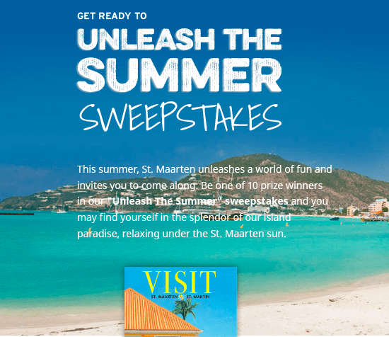 Unleash the Summer Sweepstakes