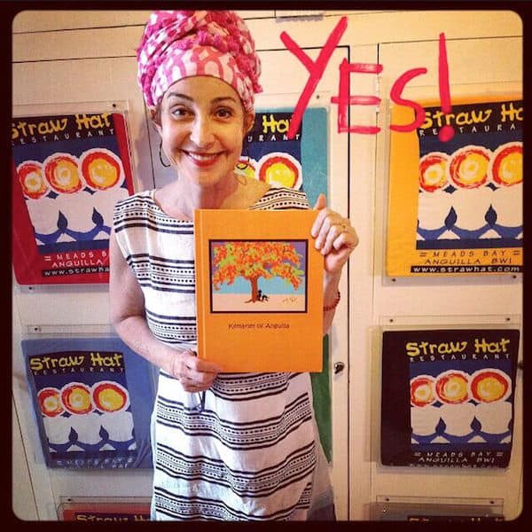 Annie with her book (Credit: Arijah Children's Foundation)