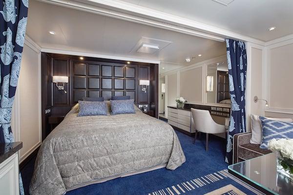 Penthouse Suite on the Seven Seas Explorer (Credit: Regent Seven Seas Cruises)