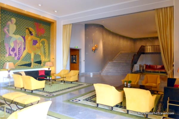 One of the sitting areas in the Lobby