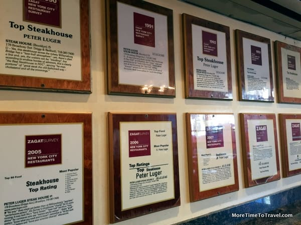 Zagat wall-of-honor