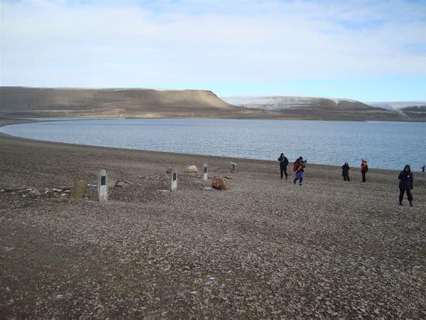 Northwest Passage: Franklin Graves on Beechey Island