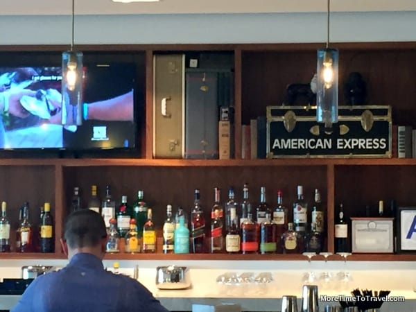 Full-service bar at the Lounge