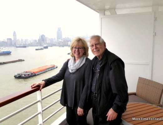 In Shanghai on the Crystal Symphony